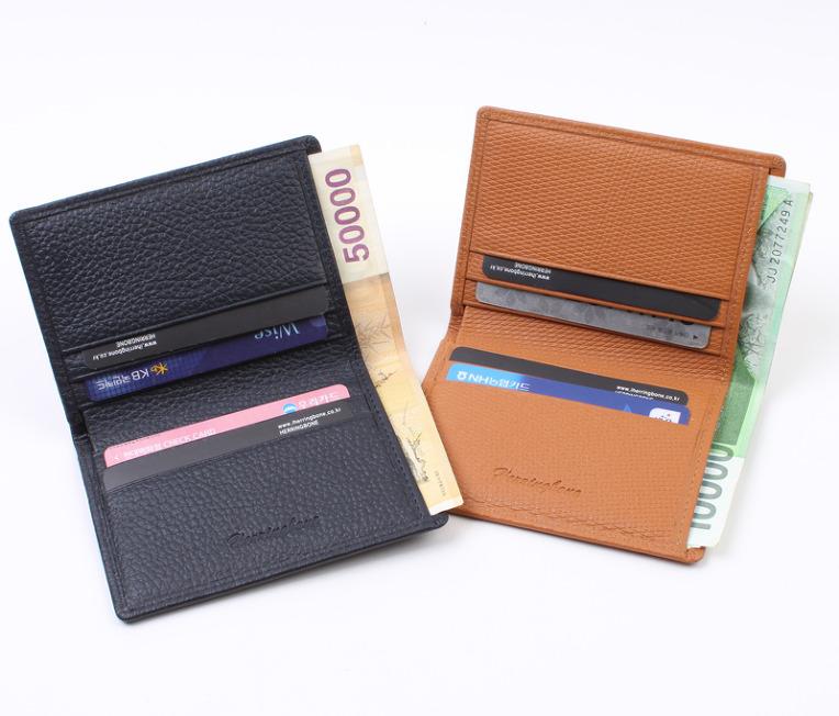 4e3efeb0709 이렇게 지폐가 들어가는 카드명함지갑 헤링본. 퀄리티에 놀라고 디자인에 또 한번 놀라고 최고의 가죽 ...