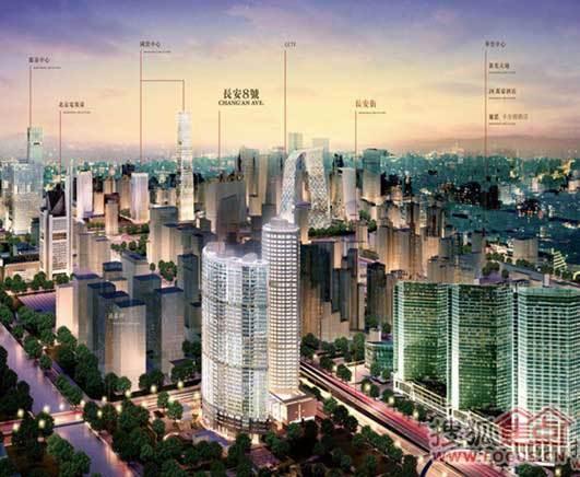 장안8호: 베이징에서 가장 비싼 난미루(爛尾樓)