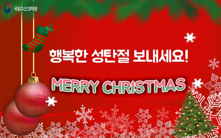 즐거운 성탄절 보내세요!