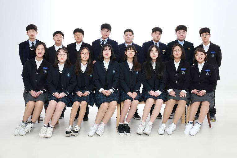 초등학교졸업, 중학교 입학기념 친구들과 교복우정사진!