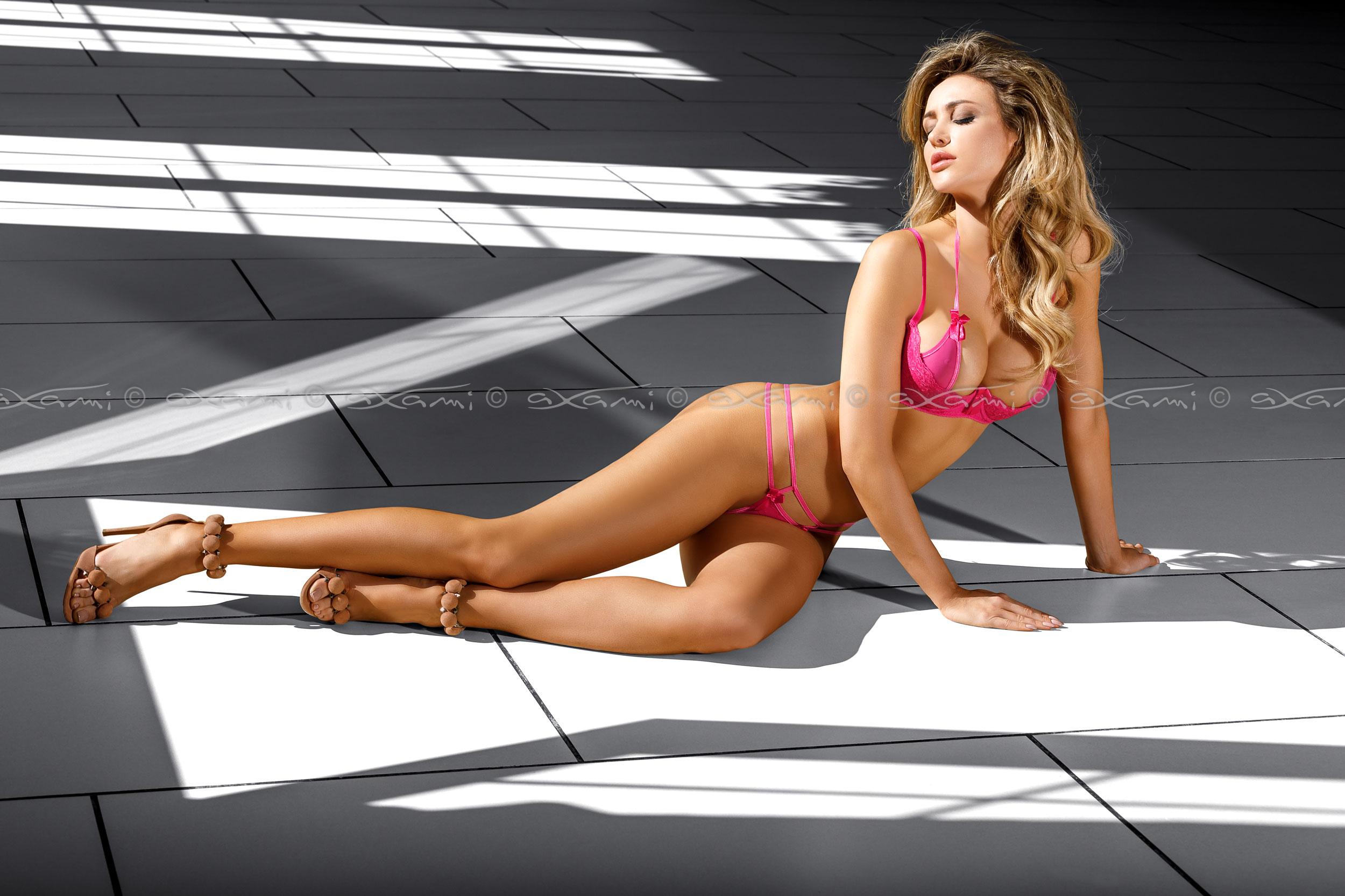 hot lingerie model