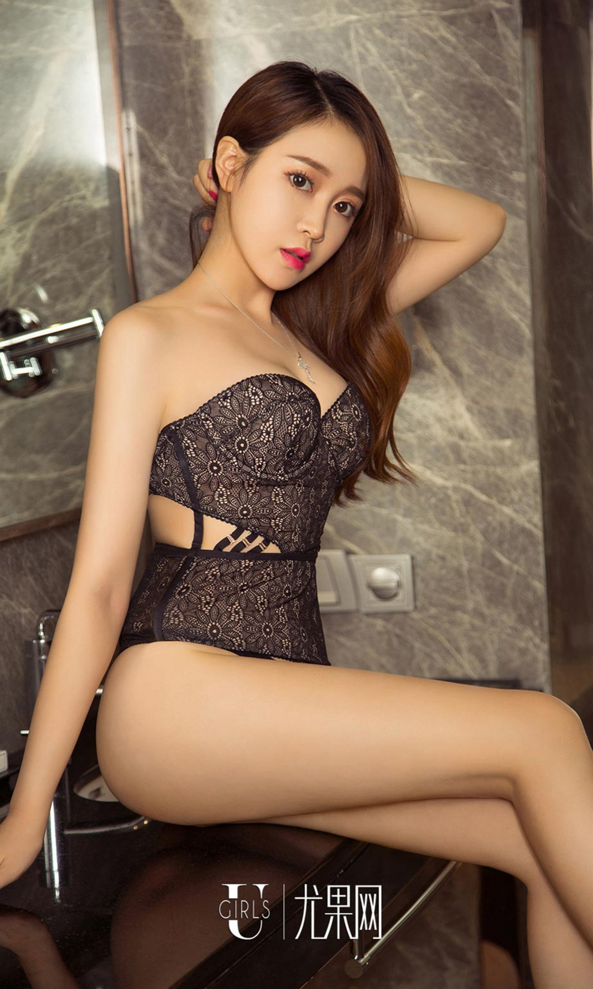 hot Chinese in sexy lingerie