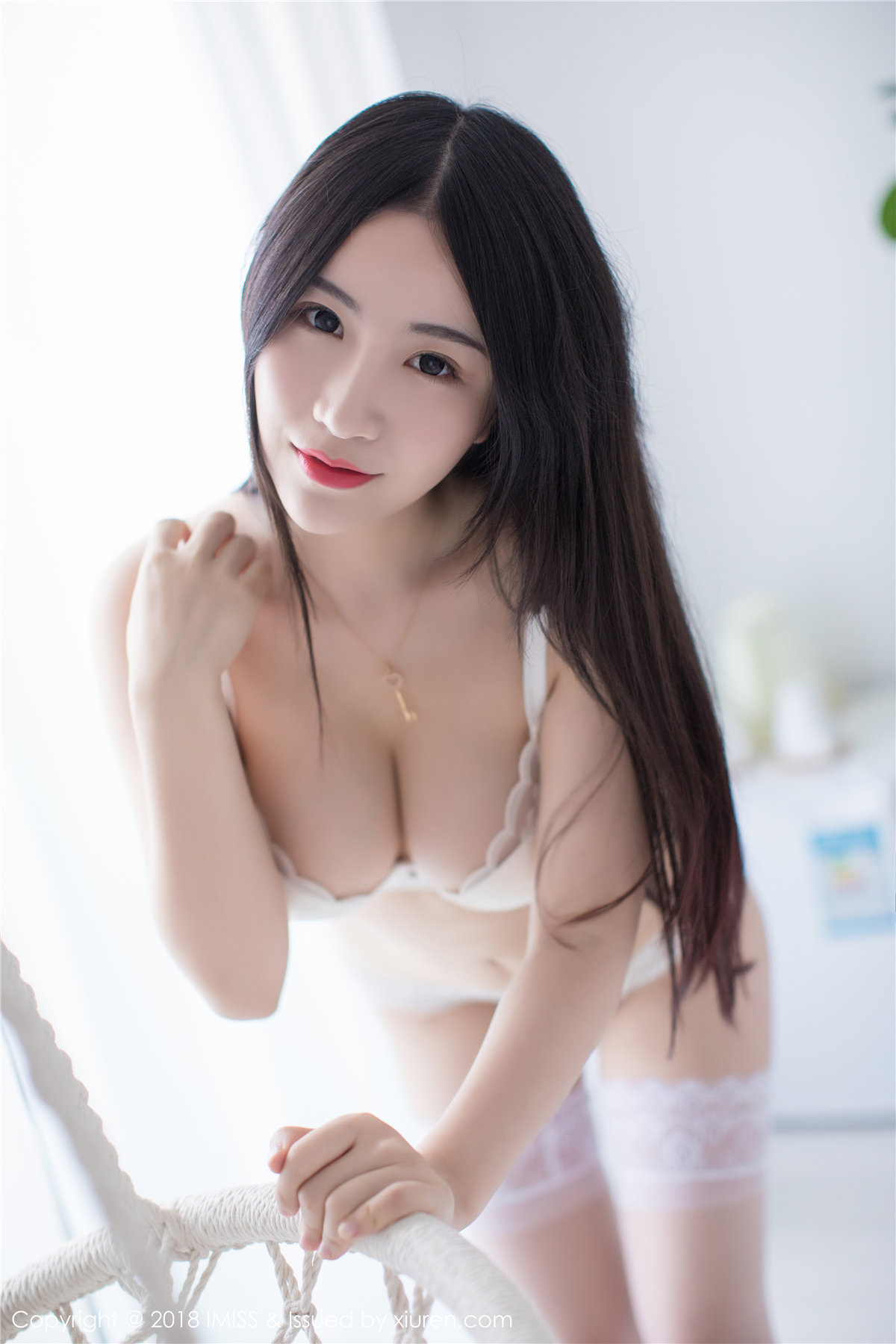 cool Chinese girl in lingerie